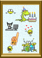 Animations Picture Frame